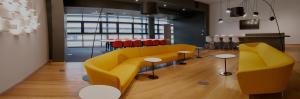 Panoramic shot of Chameleon office design project